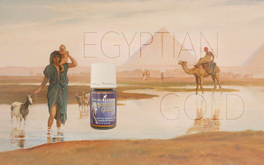 EGYPTIAN GOLD graphic