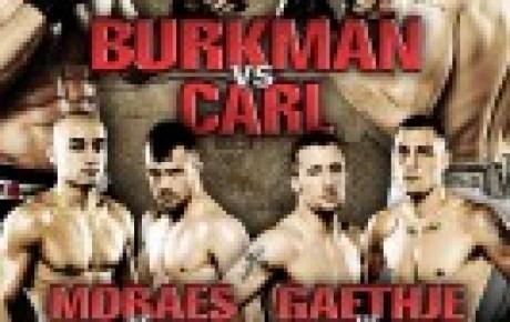 WSOF 6: Burkman vs. Carl adds three preliminary bouts to October 26 event