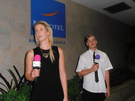 """Chanelle & Sam at Novotel Brighton Beach - """"Is this where you want me?"""""""