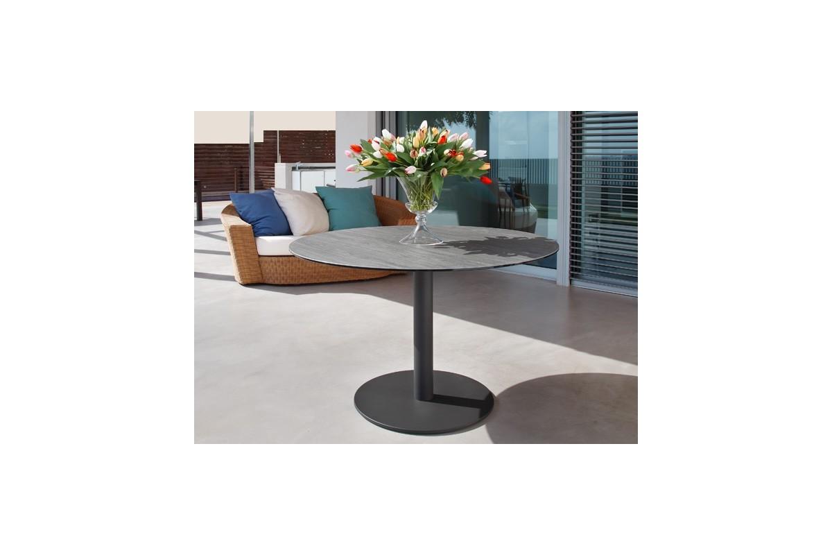 table fixe extensible ceramique epoxy