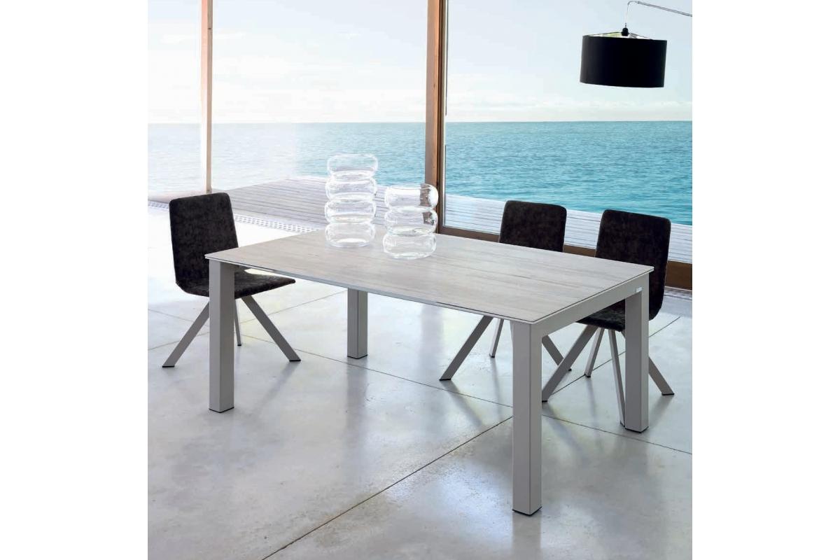 table fixe extensible ceramique dekton