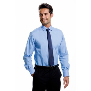 Long Sleeve Tailored Fit Business Shirt