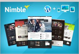 Nimble – Multipurpose Retina Ready WordPress Theme