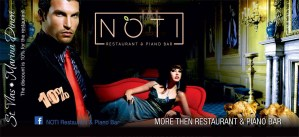 Промочек NOTI Restaurant & Piano Bar