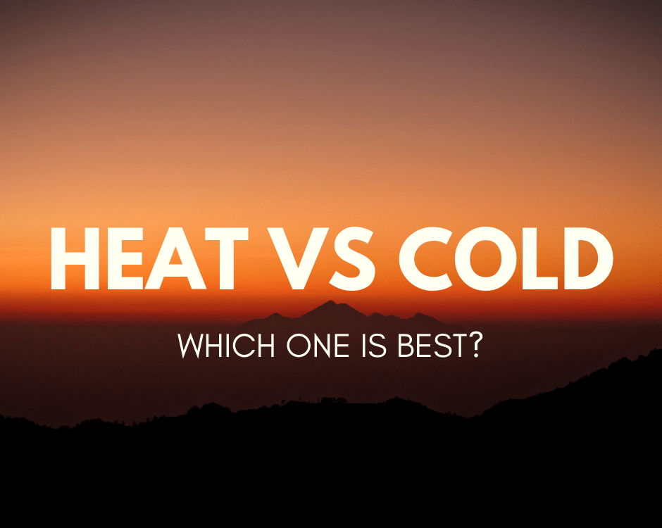 COLD VS HEAT FOR INJURY CARE
