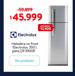 Heladera Electrolux 350 l.