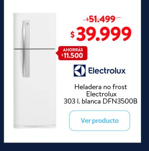 Heladera Electrolux 303 l.