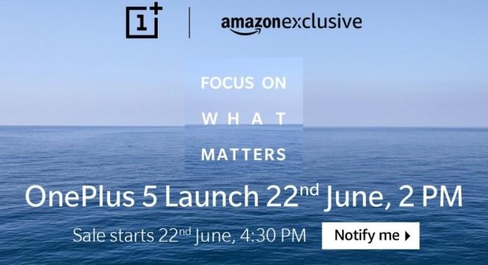 OnePlus 5 Price, Buy OnlyOnAmazon