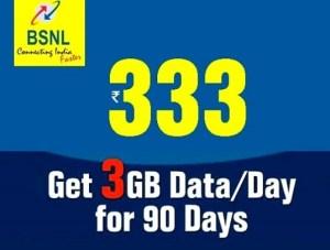 BSNL 333 STV Plan
