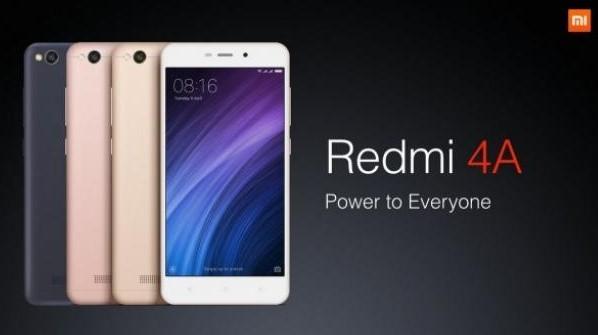 Redmi 4A Price