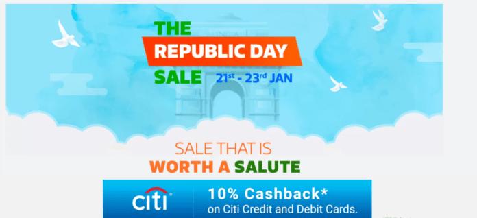 Flipkart Republic Day Sale 2018 Offers & Deals