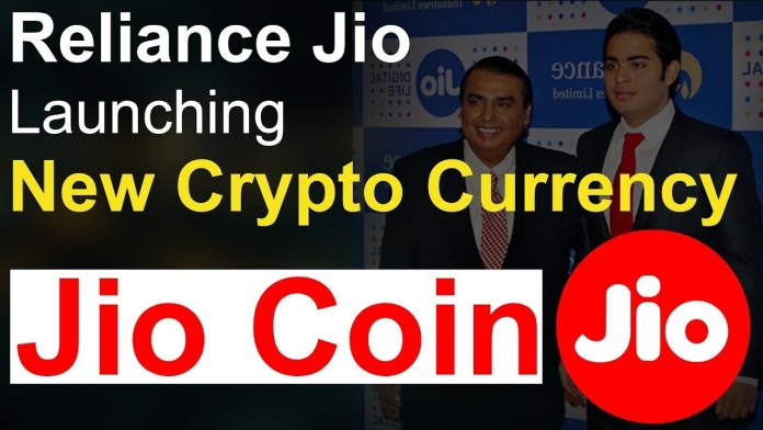 Jio's Own Cryptocurrency JioCoin May Be Launched Soon