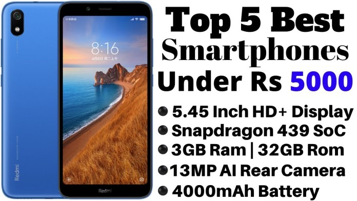 Best 4G Phone Under 5000 Rs in India