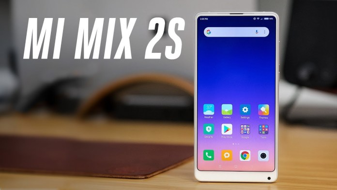 Xiaomi Mi Mix 2S Price on Flipkart & Amazon