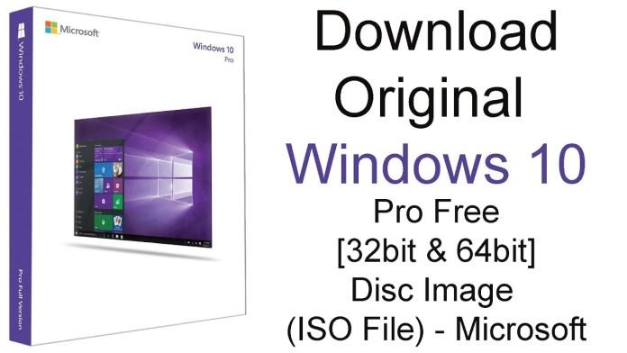 Download Window 10 Pro Free 2021 (Free Upgrade)