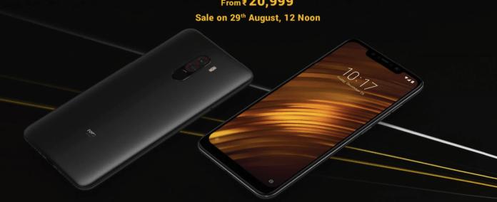 Xiaomi Poco F1 Price on Flipkart & Amazon| Poco F1 Next Sale Date