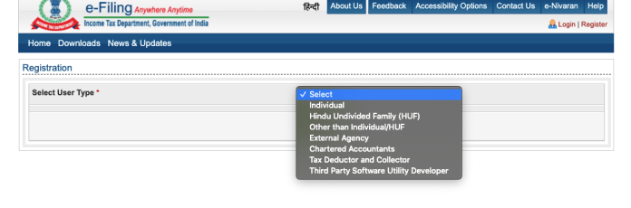 How to E-file ITR Online