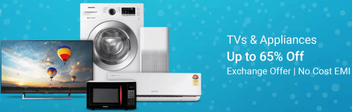 Flipkart big Appliances Sale in July & September