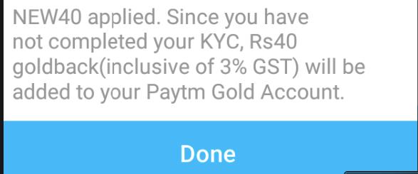 New Paytm Lootscript October 2021 – Get 40 Rs Free Gold Loot Script (Unlimited Trick)