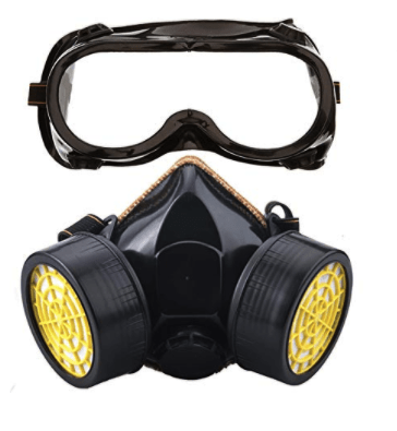 Spay protection mask