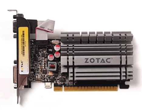 Zotak GeForce GT 730 Graphics card under 5000 Rs in India