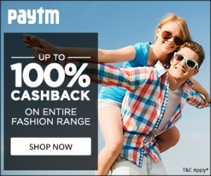 paytm fashion sale