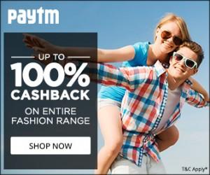 paytm fashion sale