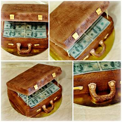 Crafts Cake From Banknotes Do It Yourself Congratulations To The