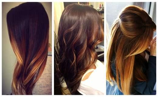 Модная покраска длинных волос 2019: фото красивых и ...