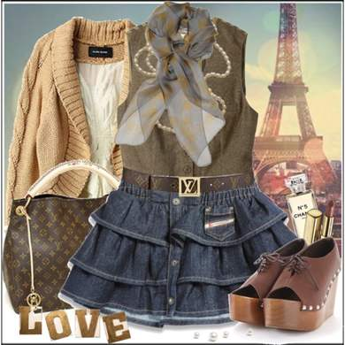 Джинсовая юбка: с чем носить и, с чем правильно сочетать, фото