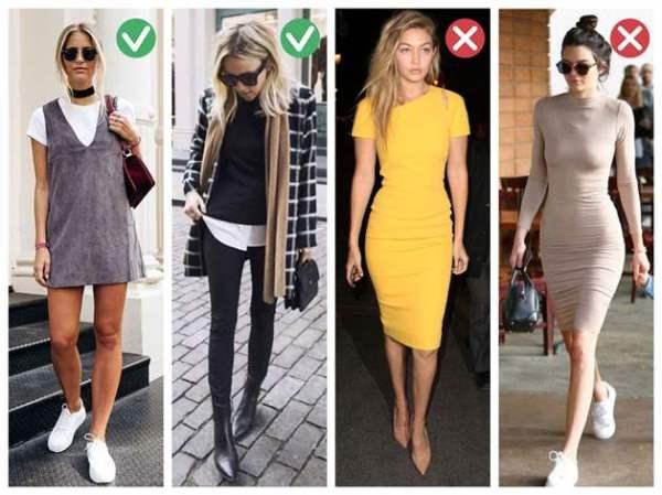 Как одеваться худым девушкам: лучшие фото образы для ...