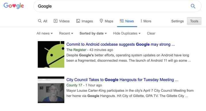 Google News Index