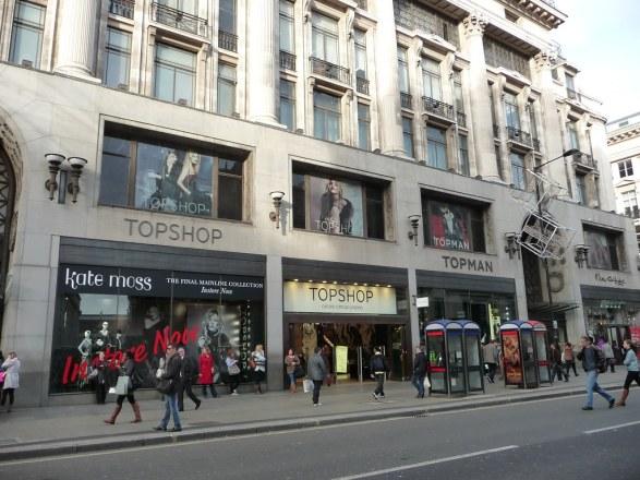 TopShop Street View