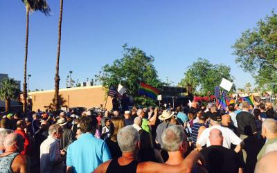 (COMPLETE VIDEO) #StandingWithOrlando Vigil, Palm Springs, California: A PromoHomo.TV Special Report
