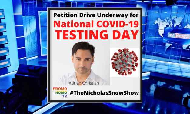 National COVID-19 Testing Day Petition Drive Underway