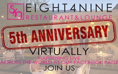 EIGHT4NINE's Virtual 5th Anniversary Broadcast