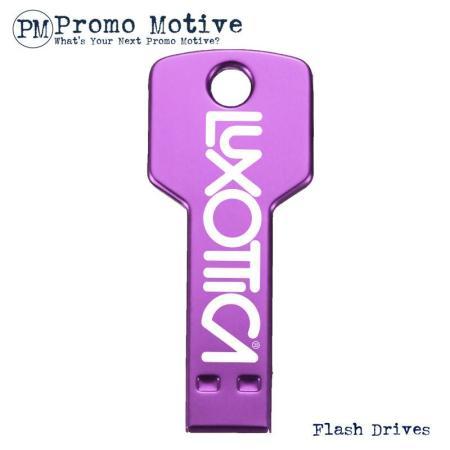 006C Purple Key Flash Drive