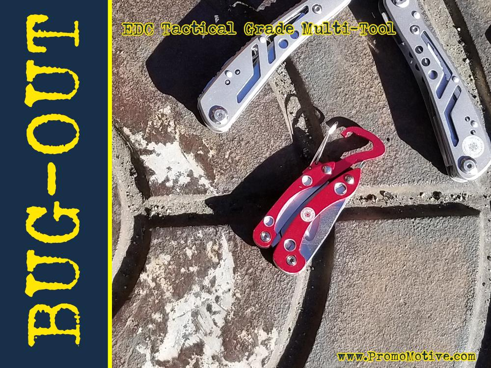 bug out tool for trade show giveaway and promo swag