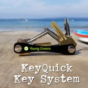 keysmart key system for trade show giveaway and promotional swag.