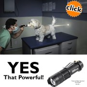 tactical flashlight for promotional product