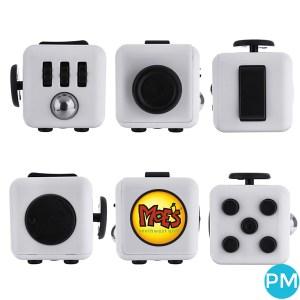 custom logo fidget cube