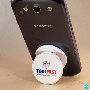 inexpensive phone socket stands and smartphone grips- Promo Motive