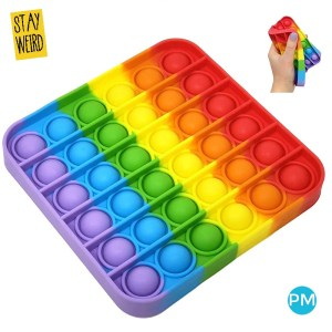 Get your logo on a POP IT! Silicone fidget toy. It's like a never ending infinite bubble wrap. Popping pleasure for hours and hours.