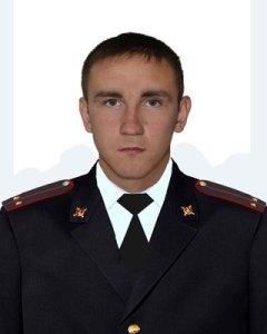 Морозовский участковый Терентьев Алексей Петрович