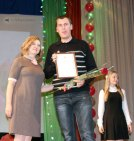 Концерт ко Дню учителя в Морозовске, Ростовская область