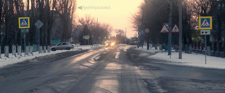 Морозовские пешеходные переходы