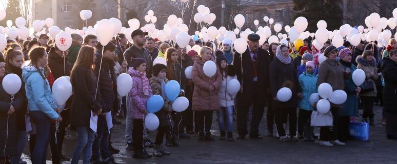 #кемеровомыстобой. Кемерово, Акция в Морозовске