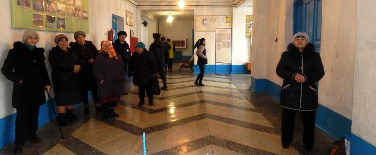 Выборы Президента в Парамонове