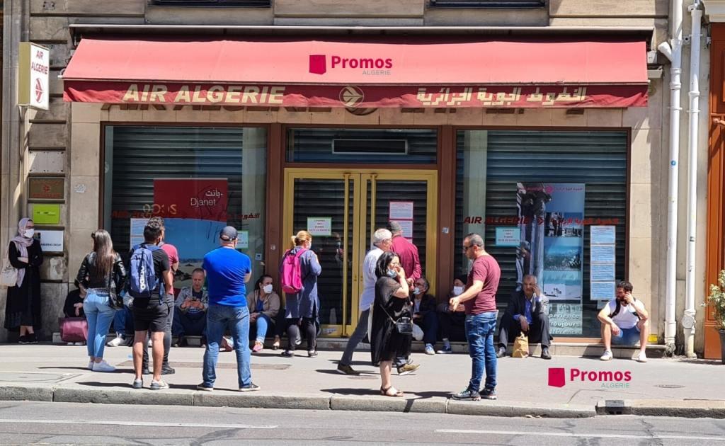 Agence Air Algérie à Paris - toujours fermée