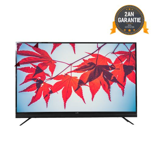Promo : Telestar Led Tv 55″ smart android sounbar – Démo intégré – Framless soundbar metal